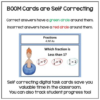 Summer Math for Rising 5th Graders BOOM Cards