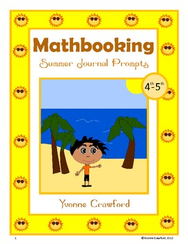 Summer Math Journal Prompts (4th and 5th grade)