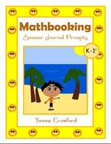 Summer Math Journal Prompts (kindergarten and 1st grade)