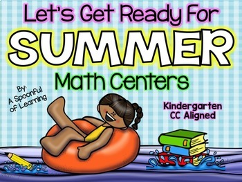 Summer {May} Math Centers! Aligned to the CC
