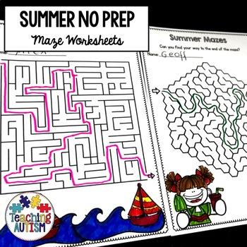 Summer Mazes
