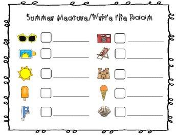 Summer Measure/Write The Room