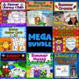 Summer Mega Bundle: Alphabet, Coloring Pages, Tracing, Unscramble the Sentences