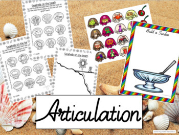 Summer Mega Pack- Language, Social skills, Articulation
