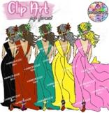 Summer girl teen clip art Images