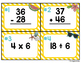 Summer Mixed Operations Task Cards {Adding, Subtracting, M