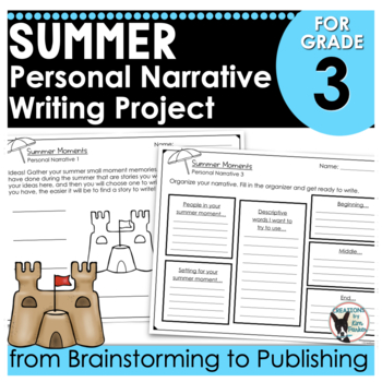 Summer Moments Personal Narrative Writing Project