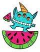 Summer Monsters Clipart