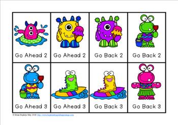 Summer Monsters Multiplication Race