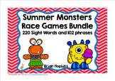 Summer Monsters Race Reading Bundle