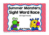 Summer Monsters Sight Word Race