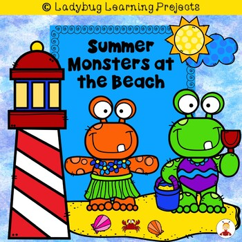 Summer Monsters at the Beach  (An  Emergent Reader and Tea