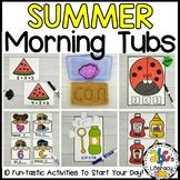 Summer Morning Tubs