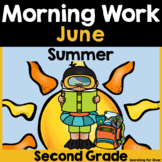 Summer Morning Work {2nd Grade}