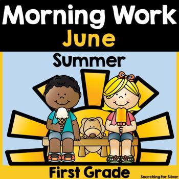 Summer Morning Work {First Grade}