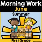 Summer Morning Work {1st Grade} PDF & Digital Ready!