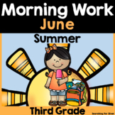 Summer Morning Work {3rd Grade}