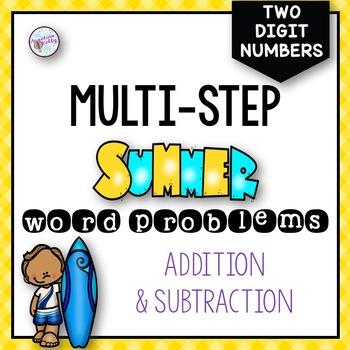 Summer Multi-Step Word Problems