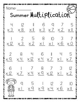 Summer Multiplication