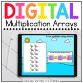 Summer Multiplication Arrays Digital Activity | Distance Learning