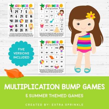 Summer Multiplication Bump Games