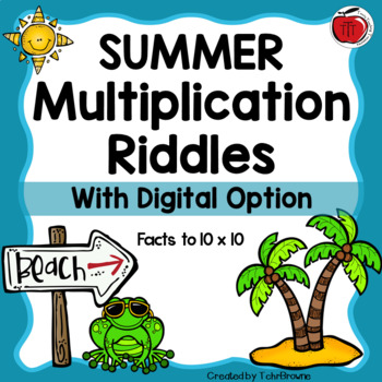 Summer Multiplication Practice
