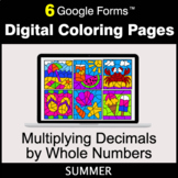 Summer: Multiplying Decimals by Whole Numbers - Digital Co