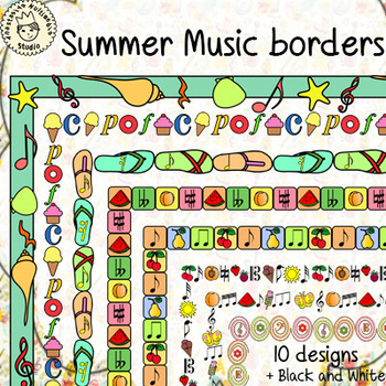 Summer Music Borders