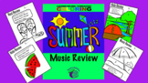 Color by Music: Summer Review