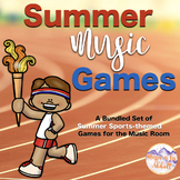 Summer Music Games {A Summer Sports Themed Growing Bundle}