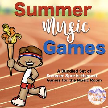 Summer Music Games {A Summer Sports Themed Growing Bundle}