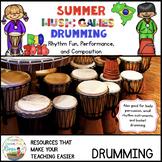 Summer Music Games Bucket Drumming