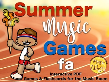 Summer Music Games {fa set}