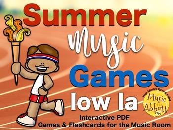 Summer Music Games {low la set}