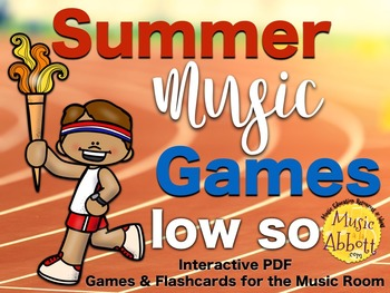 Summer Music Games {low so set}