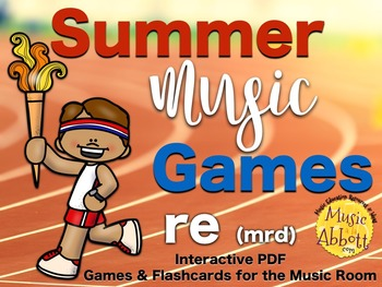 Summer Music Games {re (mrd patterns) set}