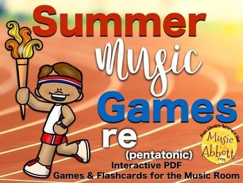Summer Music Games {re (pentatonic patterns) set}