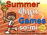 Summer Music Games {so-mi set}
