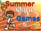 Summer Music Games {ti set}