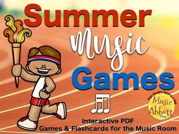 Summer Music Games {tika-ti set}