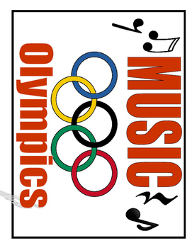 Summer Music Olympic Signs