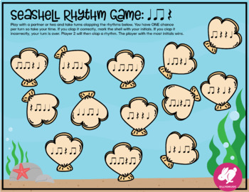 Summer Music Worksheets, Glyph, & Games