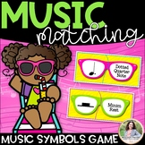 Music Matching Puzzles {Color & Ink-Friendly, American & I