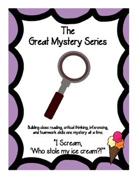 Summer Mystery Inference Center