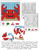 Summer Mystery Picture Hundred's Chart Puzzles