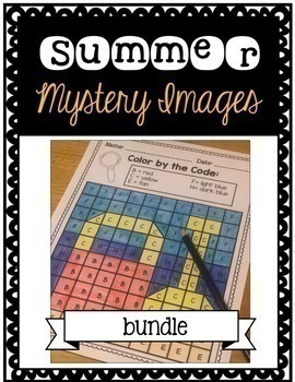 Summer Coloring Bundle