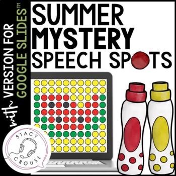 Summer Mystery Speech Spots for Articulation Practice