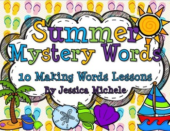Summer Mystery Words {10 Making Words Lessons}