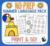 Summer NO PREP Language Pack