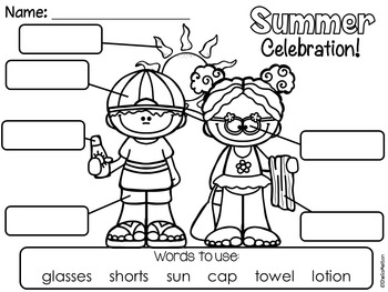 Summer NO PREP Printables